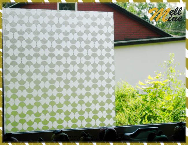 Miljöbild, dekor på fönster