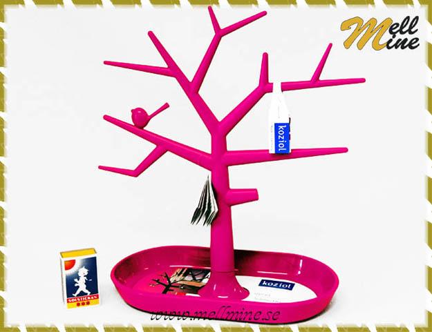 Väggdekor rosa : Pi p smyckesträd rosa välkommen till mellmine dekorplast