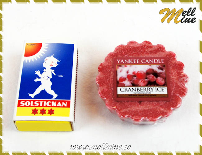 Yankee Candle doftvax - Cranberry ice